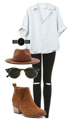 Chemise blanche, bas noir, bottines brunes