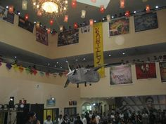 Decorations for the inaugural session of 'Konflux' - Management Fest organized by IBS Mumbai
