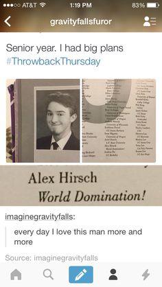 Gravity Falls Alex Hirsch