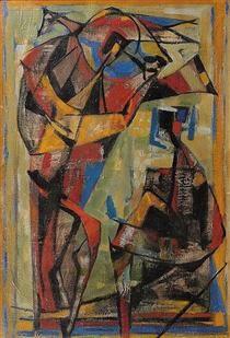 Composition - Jean Bertholle