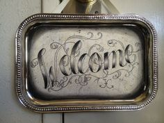 WELCOME! via Etsy. ArtByJackieC.