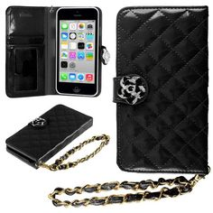 HHI iPhone 5S, 5C & 5 Quilted Purse Wallet Case BLACK with Crystal Flower Bling and Hand Strap (Package include a HandHelditems Sketch Stylus Pen) Handhelditems http://www.amazon.com/dp/B00FEY5RY6/ref=cm_sw_r_pi_dp_v1LBub13JMKY6