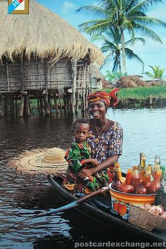 Ganvie in Benin by adam79, via Flickr