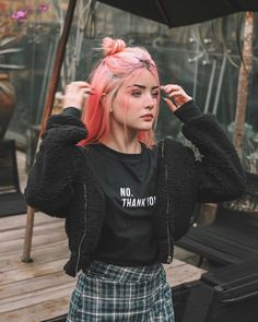5 Pastel Pink Hair Color Ideas for 2019 : Take a look! Style Pastel, Pastel Pink Hair, Hair Color Purple, Blue Hair, Pink Color, Grunge Look, Grunge Style, 90s Grunge, Soft Grunge