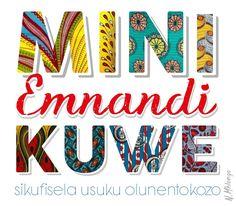 Zulu birthday quote african pattern