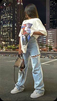Swaggy Outfits, Swag Outfits For Girls, Edgy Outfits, Teen Fashion Outfits, Cute Casual Outfits, Mode Streetwear, Streetwear Fashion, Tomboy Fashion, Everyday Outfits