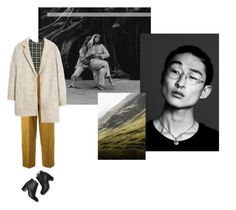 """+ I want a tragedy +"" by fl0rette ❤ liked on Polyvore featuring Rothko, Yves Saint Laurent, Marni, MANGO and Paul Andrew"