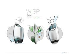 Wisp by John Traub, via Behance.