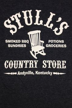 Screen printed shjirts for Stull's Country Store, Andyville, KY.
