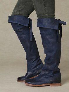 156e1b7088f Blue Jean Boots Blue Boots