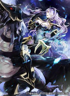 Fire Emblem Cipher - Camilla ファイアーエムブレム0(サイファ)『妖艶な魔竜騎士 カミラ』