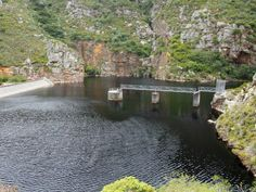 The perfect spot to cool down, away from the busy beaches.  Three Dams, Hermanus.