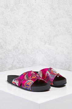 bce5510bedcfde Product Name Satin Floral Crisscross Sandals