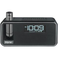 iHome IKN105BC Dual-Charging Bluetooth Stereo Alarm Clock Radio/Speakerphone with NFC & Removable Power (Black)