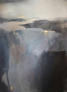 "Saatchi Art Artist Sabrina Garrasi; Painting, """"Mirage"" / Abstract Landscape"" #art"