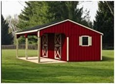 Order sturdy, attractive, Amish-built barns shipped to you complete, or as easy-to-assemble kits from LancasterBarns.com