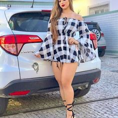 """Today we bring to you """"Elegant Casual Wears for Ladies."""" These casual wears are most meant for the western world. Sexy Outfits, Sexy Dresses, Cute Outfits, Fashion Outfits, Curvy Women Fashion, Womens Fashion, Style Feminin, Sexy Women, Casual Wear Women"""