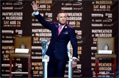 Leave it to Conor McGregor to bring a new element to the sartorial suit. The Irish mixed martial artist stole the show at a recent press conference for his upcoming fight against Floyd Mayweather Jr. It was no surprise to see McGregor in a sharp pinstripe suit. However, a closer look at his suit revealed... [Read More]