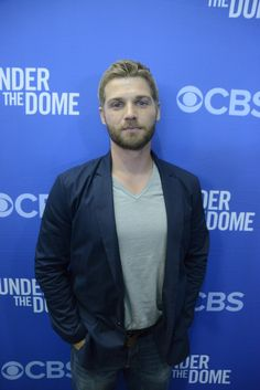 Mike Vogel Mike Vogel walks the red carpet at the Under The Dome premiere.