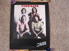 Foreigner 1981 Original Record Store Promo Poster Vintage | eBay