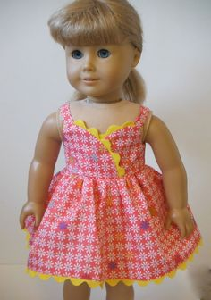 18 inch Doll Clothes  fits American Girl  Sun by HoleInMyBucket, $16.00