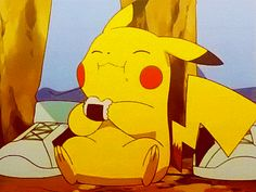 Pikachu!!! I love me some Pikachu...