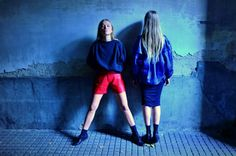 The Leather Jacket #StreetStyle #JohanssonSisters #IN2ITIONSTYLE #biker #oversize