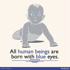Did you know this amazing fact? The melanin in a newborn's eyes needs time to be fully deposited or to be darkened by exposure to ultraviolet light, later revealing the true eye colour.