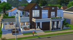 Sims 4 Houses and Lots: Factory Converted Home