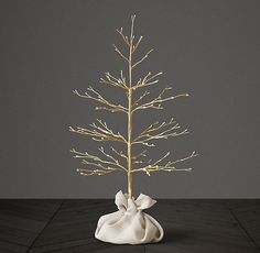 Starlit 3' Tree - Gold