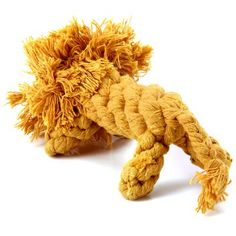 Colorful 16cm Cotton Rope Knitted Lionet Pet Toy Teeth Grinding Tool Dogs Cats Doll #men, #hats, #watches, #belts, #fashion, #style
