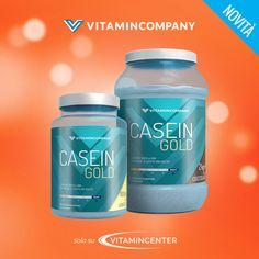 NEW ENTRY >> CASEIN GOLD << è il nuovo integratore VitaminCompany a base di #caseine micellari a lento rilascio. Gusto eccezionale, solubilità istantanea ed ottimo profilo aminoacidico…Acquistalo ora su #VitaminCenter! New Product, Shampoo, Container, Personal Care, Bottle, Personal Hygiene, Flask, Jars