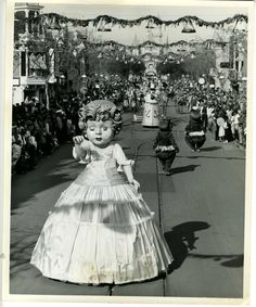 stuff from the park: Disneyland Christmas Parade of Toys Early 1960s