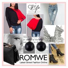 """ROMWE 3"" by damira-dlxv ❤ liked on Polyvore"