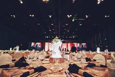Simply Elegant Family of Companies in Calgary Since 1996 Gold Room Decor, Gold Rooms, Calgary, Corporate Events, Hospitality, Black Gold, Dolores Park, Floral Design, Table Settings