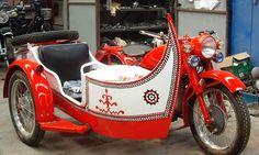 boat design sidecar, China