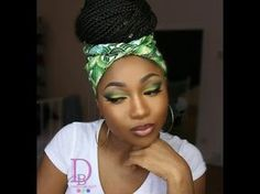 Poetic Justice Head Wrap Tutorial | For Braids, Twists & Locs - YouTube