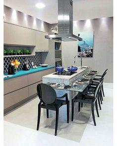 """3,686 Likes, 114 Comments - Loja Decorando Com Classe (@decorandocomclasse) on Instagram: """"Inspiração para um espaço gourmet!"""""""