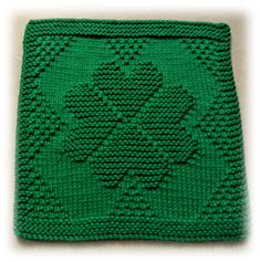 Shamrock Love Dishcloth … …