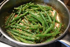 Soy-Ginger Green Beans | www.iatethewholething.com