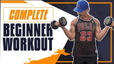 6 Dumbbell Exercises for Beginners | Complete Beginner Workout for GAINS