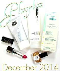 December 2014 GlossyBox Swatches & Review