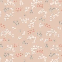 Tenderness in Peach for sweet baby crib bedding/home decor projects ^^  $10.90