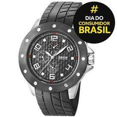 Ricardo Eletro Relógio Masculino Analógico Magnum R$ 185,91