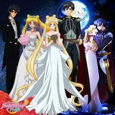 Sailor Moon Crystal // Then, Now and Forever...