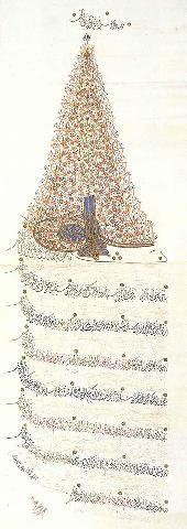 Berat of Sultan Ahmed II-1693