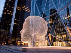 Jaume Plesa  Bow Building along Centre Street and 5th Avenue