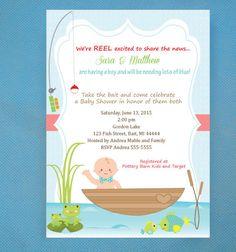 Fishing baby shower invitation for boy and i was like baby baby fishing baby shower invitations gone fishing by lindsayisartsy filmwisefo