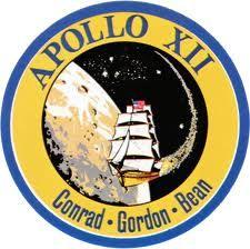 Apollo 12 badge