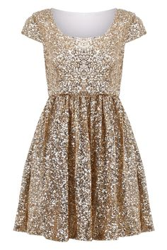 Paillettes Apricot Shift Dress - Glitter Gold Dress For Girls Shift Dresses, Midi Dresses, Midi Skirt, Textiles Y Moda, Glitter Dress, Gold Dress, Gold Glitter, Gold Sequins, Gold Sparkle Bridesmaid Dress